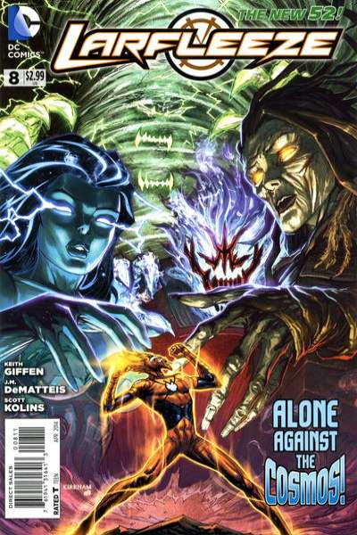 Larfleeze #8 comic books for sale