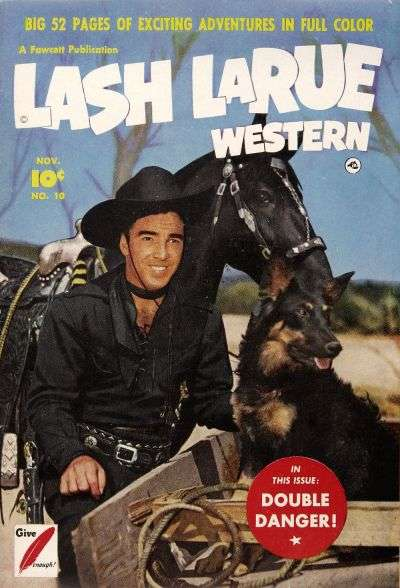 Lash Larue Western #10 Comic Books - Covers, Scans, Photos  in Lash Larue Western Comic Books - Covers, Scans, Gallery