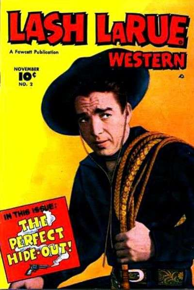 Lash Larue Western #2 Comic Books - Covers, Scans, Photos  in Lash Larue Western Comic Books - Covers, Scans, Gallery