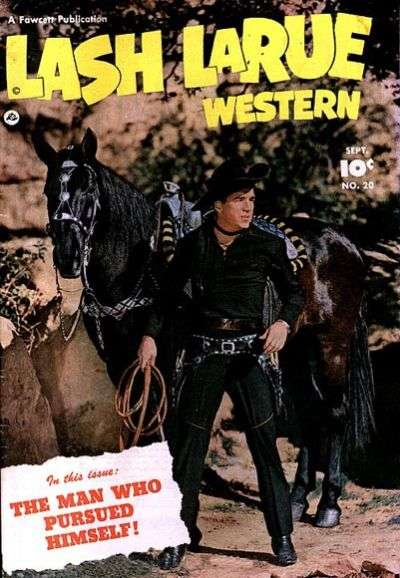 Lash Larue Western #20 Comic Books - Covers, Scans, Photos  in Lash Larue Western Comic Books - Covers, Scans, Gallery