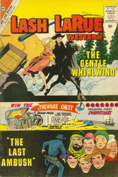 Lash Larue Western #82 comic books for sale