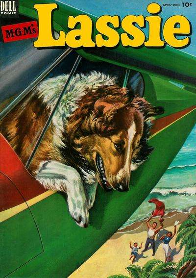 Lassie #11 comic books for sale