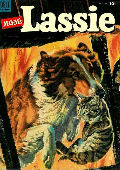 Lassie #12 comic books for sale