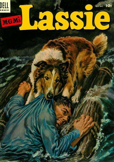 Lassie #13 comic books for sale