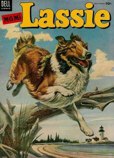 Lassie #17 comic books for sale