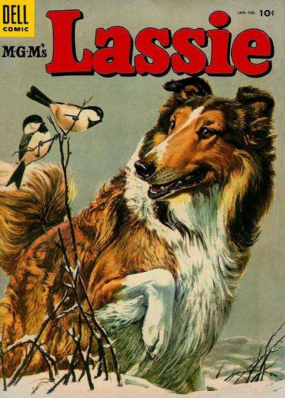 Lassie #20 Comic Books - Covers, Scans, Photos  in Lassie Comic Books - Covers, Scans, Gallery