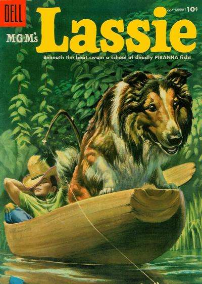 Lassie #23 comic books for sale