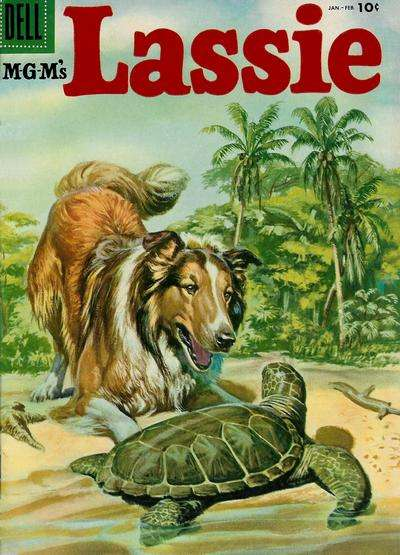 Lassie #26 comic books for sale