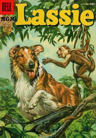 Lassie #28 comic books for sale