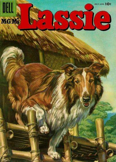 Lassie #29 comic books for sale