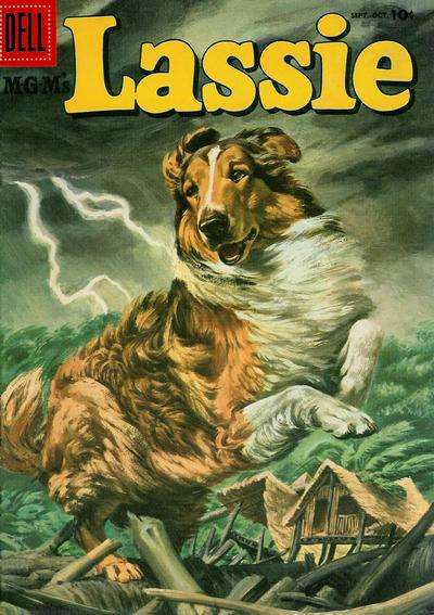 Lassie #30 comic books for sale
