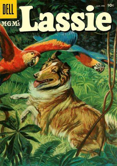 Lassie #32 comic books for sale