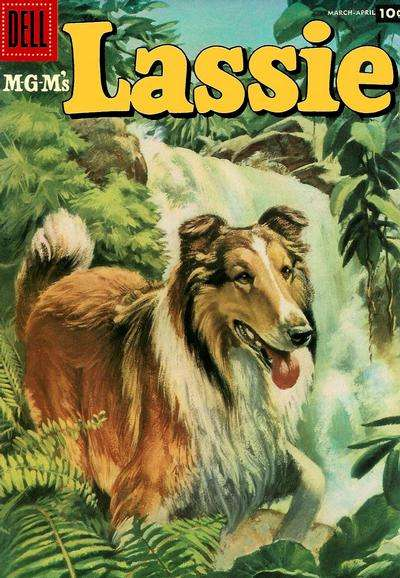 Lassie #33 comic books for sale