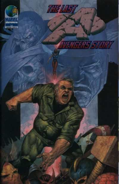 Last Avengers Story #1 comic books - cover scans photos Last Avengers Story #1 comic books - covers, picture gallery
