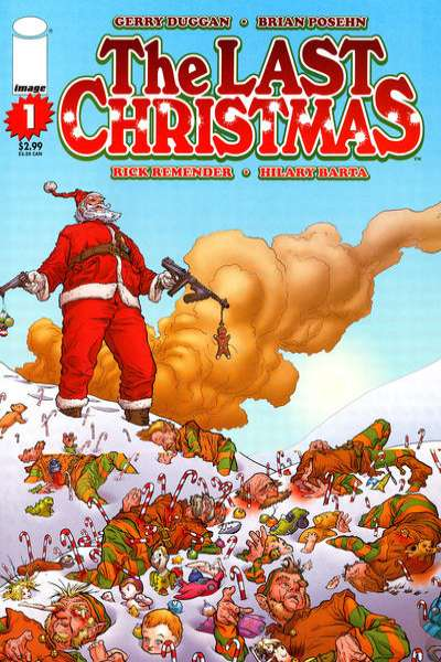 Last Christmas comic books