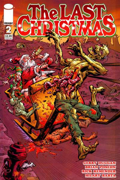 Last Christmas #2 Comic Books - Covers, Scans, Photos  in Last Christmas Comic Books - Covers, Scans, Gallery