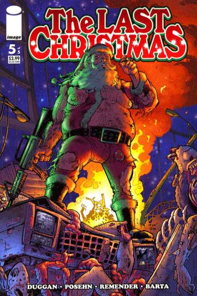Last Christmas #5 comic books - cover scans photos Last Christmas #5 comic books - covers, picture gallery