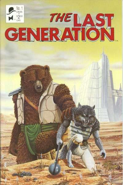 Last Generation #1 comic books for sale