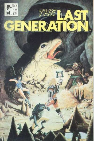 Last Generation #2 comic books for sale