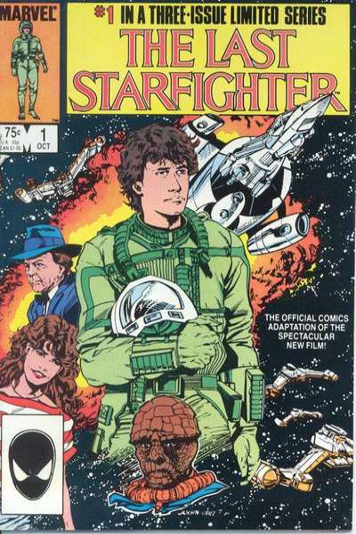 Last Starfighter comic books