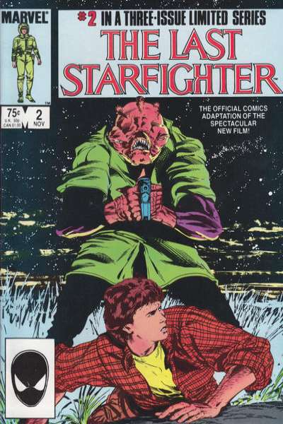Last Starfighter #2 comic books for sale