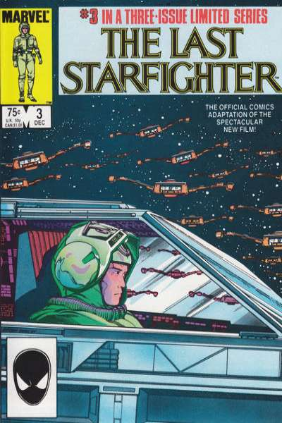 Last Starfighter #3 comic books for sale