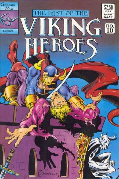 Last of the Viking Heroes #10 Comic Books - Covers, Scans, Photos  in Last of the Viking Heroes Comic Books - Covers, Scans, Gallery