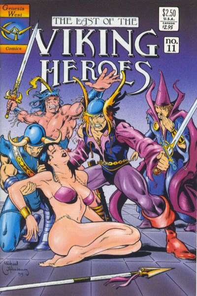Last of the Viking Heroes #11 Comic Books - Covers, Scans, Photos  in Last of the Viking Heroes Comic Books - Covers, Scans, Gallery