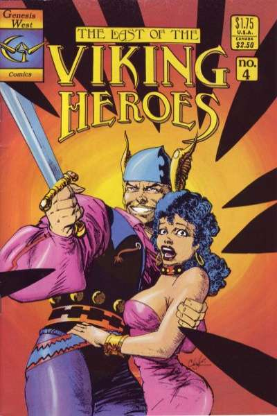 Last of the Viking Heroes #4 Comic Books - Covers, Scans, Photos  in Last of the Viking Heroes Comic Books - Covers, Scans, Gallery