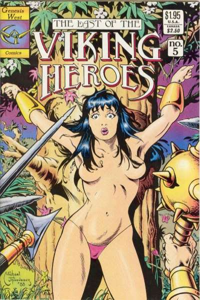 Last of the Viking Heroes #5 Comic Books - Covers, Scans, Photos  in Last of the Viking Heroes Comic Books - Covers, Scans, Gallery
