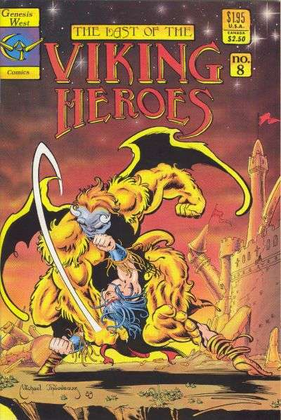 Last of the Viking Heroes #8 Comic Books - Covers, Scans, Photos  in Last of the Viking Heroes Comic Books - Covers, Scans, Gallery