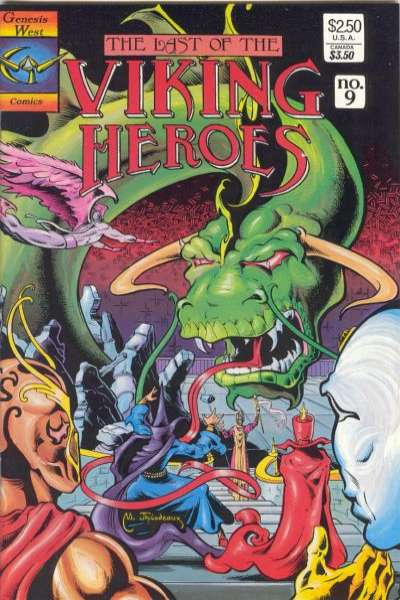 Last of the Viking Heroes #9 Comic Books - Covers, Scans, Photos  in Last of the Viking Heroes Comic Books - Covers, Scans, Gallery