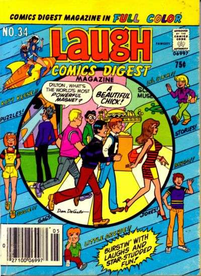 Laugh Comics Digest #34 comic books - cover scans photos Laugh Comics Digest #34 comic books - covers, picture gallery