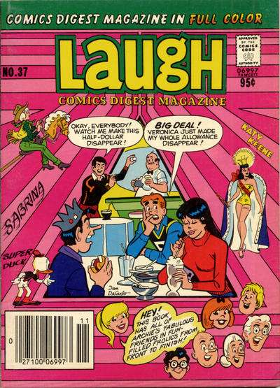 Laugh Comics Digest #37 comic books - cover scans photos Laugh Comics Digest #37 comic books - covers, picture gallery