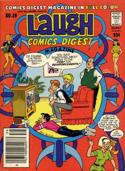 Laugh Comics Digest #39 comic books - cover scans photos Laugh Comics Digest #39 comic books - covers, picture gallery