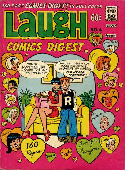 Laugh Comics Digest #4 Comic Books - Covers, Scans, Photos  in Laugh Comics Digest Comic Books - Covers, Scans, Gallery