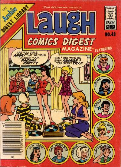Laugh Comics Digest #43 comic books for sale