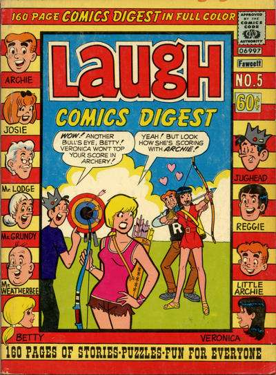 Laugh Comics Digest #5 Comic Books - Covers, Scans, Photos  in Laugh Comics Digest Comic Books - Covers, Scans, Gallery