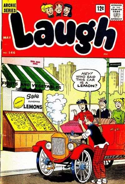 Laugh Comics #146 comic books - cover scans photos Laugh Comics #146 comic books - covers, picture gallery