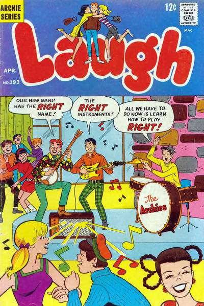 Laugh Comics #193 comic books - cover scans photos Laugh Comics #193 comic books - covers, picture gallery