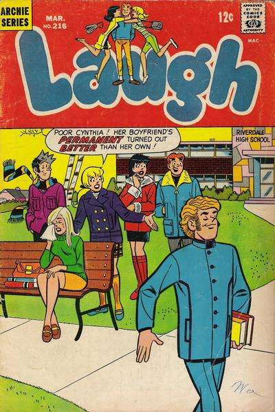 Laugh Comics #216 comic books - cover scans photos Laugh Comics #216 comic books - covers, picture gallery