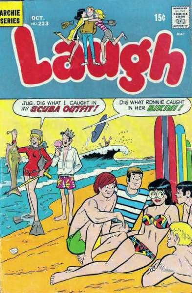 Laugh Comics #223 comic books - cover scans photos Laugh Comics #223 comic books - covers, picture gallery