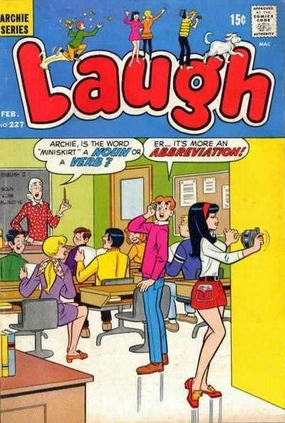 Laugh Comics #227 comic books - cover scans photos Laugh Comics #227 comic books - covers, picture gallery