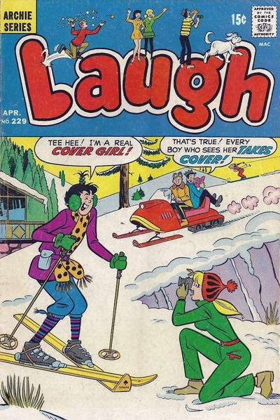 Laugh Comics #229 comic books for sale