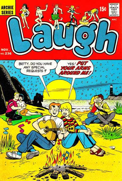 Laugh Comics #236 comic books - cover scans photos Laugh Comics #236 comic books - covers, picture gallery