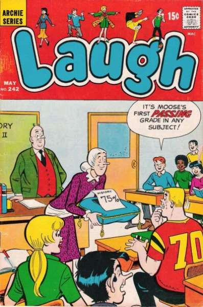Laugh Comics #242 comic books - cover scans photos Laugh Comics #242 comic books - covers, picture gallery