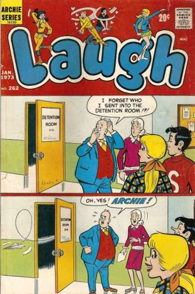 Laugh Comics #262 comic books - cover scans photos Laugh Comics #262 comic books - covers, picture gallery
