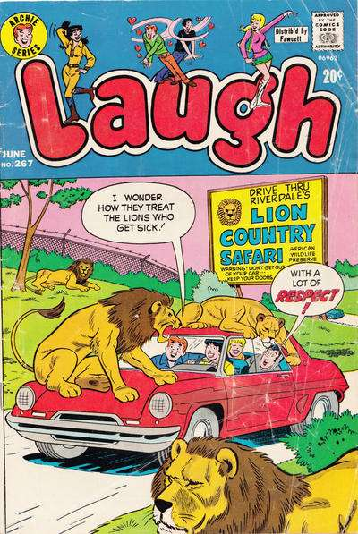 Laugh Comics #267 comic books - cover scans photos Laugh Comics #267 comic books - covers, picture gallery
