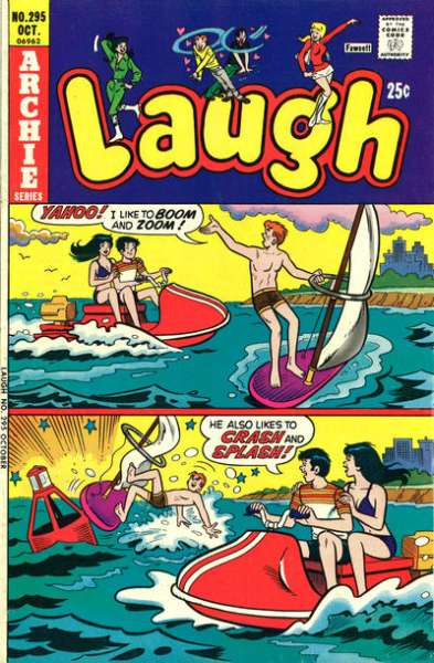 Laugh Comics #295 comic books for sale