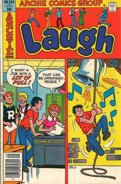 Laugh Comics #354 comic books - cover scans photos Laugh Comics #354 comic books - covers, picture gallery